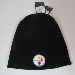 OTS Accessories - Pittsburgh Steelers Beanie Knit Skull Cap Hat OTS a4e2fcb97